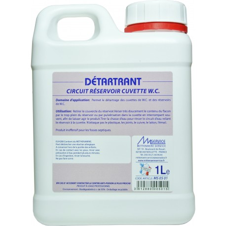 Detartrant wc industriel - Detartrer cuvette wc ...